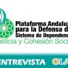 """22M: """"El Gobierno central ha dejado de subvencionar 15 millones, lo que ha sacudido con gran dureza a los servicios sociales"""", Belén Rodríguez, Plataforma Defensa del Sistema Público de Servicios Sociales"""