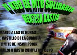 """La Guardia de Jaén celebra el próximo domingo la II convocatoria de Mountain Bike solidaria """"Mentesa Bastia"""" en la que se recaudará alimentos en beneficio de las familias más desfavorecidas del municipio"""