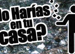 Guillena pone en marcha una nueva campaña de sensibilización medioambiental con el lema 'Lo harías en tu casa' cuyo objetivo es ahorrar en el consumo de energía y concienciar sobre la importancia del reciclaje