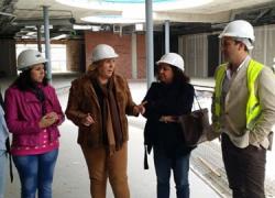 Las obras para la construcción del nuevo Hospital de Alta Resolución de la Sierra de Cazorla, que atenderá a 28.000 habitantes de ocho localidades de la comarca, alcanzan el 77% de grado de ejecución