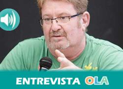 """""""Esperamos que con la movilización se vayan introduciendo políticas de cambio para que los beneficios se pongan al servicio de la gente y no de los bancos"""", Ginés Fernández, Coordinadora Estatal de las Marchas"""
