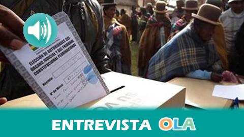 """""""Las mismas personas que votaron a Evo Morales como presidente hace dos meses, en las elecciones del domingo han votado a la oposición para los municipios y gobernaciones"""", Juan Mamani, historiador boliviano"""