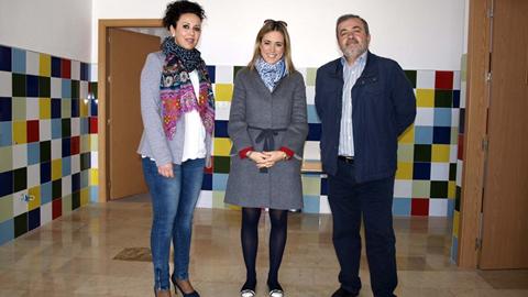 Los centros educativos del municipio malagueño de Pizarra, CEIP La Fuensanta y Escuela Infantil Los Pitufos, presentan nuevas instalaciones por medio del Plan de Oportunidades Laborales en Andalucía