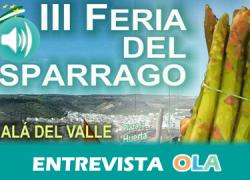 """""""La Feria del Espárrago ofrece un ambiente excelente degustando el espárrago, paseando por el mercado y escuchando buena música"""", Pedro Jiménez, concejal de Turismo de Alcalá del Valle (Cádiz)"""