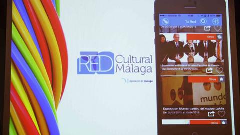 """Toda la oferta cultural de Málaga y su provincia ya está disponible en """"Red Cultural Málaga"""", una aplicación móvil y página web puesta en marcha por la Diputación provincial en colaboración con los ayuntamientos"""