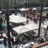 Jerez de la Frontera acoge la III edición de la 'Feria de la Ciencia en la Calle', un evento de carácter lúdico y educativo que pretende fomentar el interés científico y trasladar la ciencia a la población