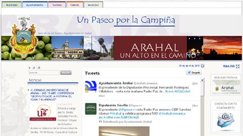 Arahal se encuentra a la cabeza en administración electrónica entre las localidades de la provincia de Sevilla, sus vecinos ya tienen disponible en el portal web municipal las actas de los plenos municipales