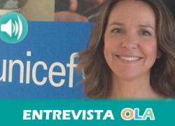 """""""Hay más menores que nunca viviendo entre conflictos armados y en campos de refugiados cuando deberían vivir en sus países de origen de forma segura y familiar"""", Cristina Junquera, Incidencia Política de UNICEF"""