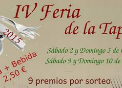 El Ronquillo celebrará los próximos días 2, 3, 9 y 10 de mayo su IV Feria de la Tapa con la finalidad de dar a conocer el potencial gastronómico y fomentar la actividad económica del municipio sevillano