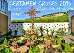 El municipio jiennense de Villanueva del Arzobispo celebra durante la noche del 2 de mayo, con motivo de las fiestas patronales de la localidad, un certamen de Cruces de Mayo con una amplia participación