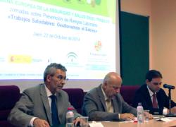 La Universidad de Jaén celebra la I Semana de Seguridad y Salud en el Trabajo, con el fin de promover la prevención de accidentes de trabajo y enfermedades profesionales desde su campus a todo el mundo