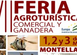 El municipio sevillano de Montellano celebra la XVII Feria Agroturística, Comercial y Ganadera y la VIII Feria del Perro del uno hasta al tres de mayo, con actividades para todos los públicos