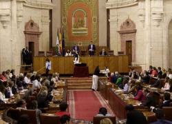 Especial Debate Investidura. El PP Andaluz presenta a Susana Díaz un paquete de 146 medidas prioritarias para Andalucía en su intervención durante el debate de investidura