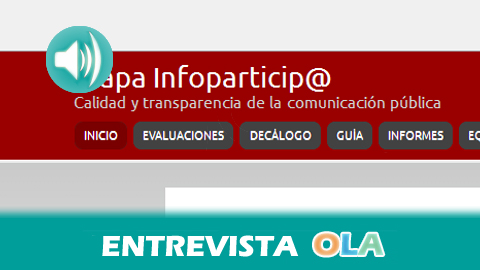 """""""La transparencia en las webs municipales es un déficit no solo achacable al equipo de gobierno, la oposición que debe ser exigente"""", Teresa Vera, coordinadora para Andalucía del proyecto Inforparticip@"""