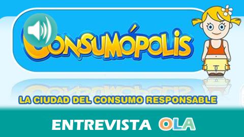 «La educación sobre consumo responsable es importante desde edades tempranas para formar a personas críticas con su entorno», Santiago Hoya, jefe del servicio de Educación y Promoción a las Personas Consumidoras