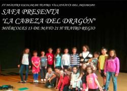 La escuela municipal de teatro de la localidad jienense de Villanueva del Arzobispo cumple 15 años sobre las tablas y lo celebra con textos de Shakespeare, Lorca o Lope de Vega en la XV Muestra de Teatro escolar