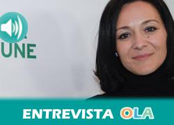 """24M: """"Hay muchas posibilidades de desarrollo desde lo local y lo comarcal, lo que, además permite fijar la población al territorio"""", Rafaela Crespín, secretaria de Política Municipal de PSOE Andalucía"""