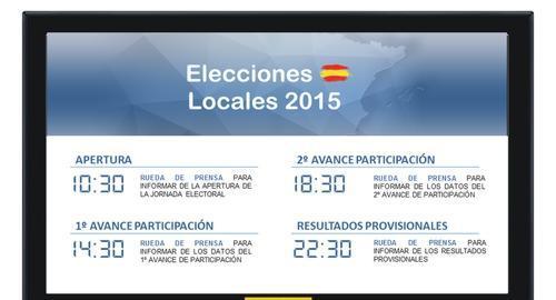 24M: El Gobierno central estima que a las 22:30 horas de este domingo habrá ya resultados significativos y cercanos al escrutinio final en las elecciones municipales