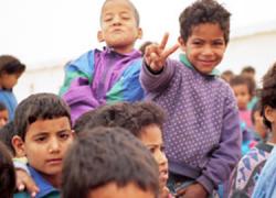 Niños y niñas saharauis procedentes del campamento de refugiados de Tinduf, con edades entre 6 y 12 años, serán acogidos este verano por familias de Rute gracias al programa 'Vacaciones en Paz'