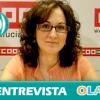 """""""La reforma laboral provoca el hacinamiento en el campo e incluso que los trabajadores paguen su salario a cambio de un permiso de trabajo"""", Nuria López, secretaria Empleo y Relaciones Institucionales CCOO-A"""