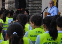 La Puebla de Cazalla finaliza el Proyecto Camino Escolar, con la entrega de un informe realizado por los niños y niñas participantes en el que señalan los obstáculos viales que encuentran de camino al colegio