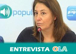 """""""Son más de 30 años de gobierno socialista en la misma línea que han traído a nuestra tierra el 10 por ciento de paro más que en el resto de España"""", Carmen Crespo, portavoz adjunta del Grupo Parlamentario del PP"""
