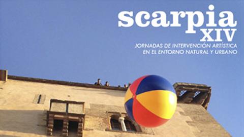 Una publicación recoge los trece años de la iniciativa 'Scarpia', las jornadas de intervención artística en el espacio urbano y natural que todos los años celebra el municipio cordobés de El Carpio