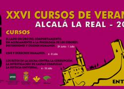 El municipio jienense de Alcalá la Real acoge la XII edición de los Cursos de Verano de la UNED sobre psicología, justicia, cine y derechos humanos, que se llevarán a cabo del 29 de junio al 10 de julio