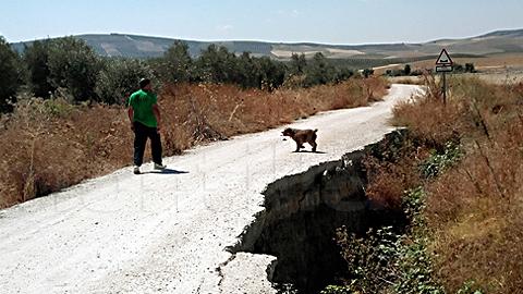 La Rambla, junto con otros municipios de la Campiña Sur cordobesa, consiguen un acuerdo con la Diputación de Córdoba para mejorar el drenaje y las condiciones del camino rural del Capitán Prieto