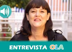 """""""La ley mordaza, además de suponer un ataque a la libertad de expresión e información, va a permitir que se vaya a la cárcel por ejercer derechos"""", Lola Fernández, Sindicato de Periodistas de Andalucía"""