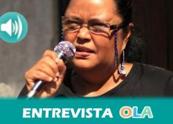 «Estamos trabajando por mantener los derechos conquistados y mantener unas políticas que garanticen una vida sin violencia y libertad sexual», Eva Molina, presidenta Colectivo de Mujeres de Matagalpa (Nicaragua)