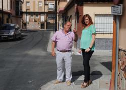 Más de sesenta personas son contratadas en Maracena con motivo del plan de remodelación integral de la extensa calle Miguel de Cervantes y con el objetivo de ofrecerles un respiro económico