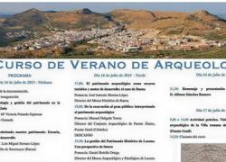 Doña Mencía pone en marcha mañana jueves 16 de julio la tercera edición del Curso de Arqueología 'Villa de Doña Mencía' centrado en la gestión del patrimonio arqueológico desde el ámbito municipal