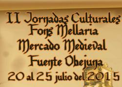 Fuente Obejuna celebra las II Jornadas Culturales 'Fons Mellaria' con las charlas técnicas 'Alimentos y Salud. Patrimonio Alimentario de Andalucía', representaciones teatrales, conferencias y mesas redondas