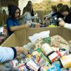 Los Palacios y Villafranca recibe casi 20.000 kilos de productos no perecederos de primera necesidad que se distribuirán entre más de 800 personas del municipio que están atravesando dificultades económicas