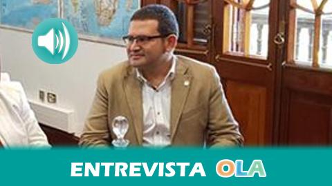 """""""La comunicación en cooperación y el periodismo libre contribuyen a la gobernanza de los países en vías de desarrollo"""", Néstor Fernández, director de la Agencia Andaluza de Cooperación Internacional"""
