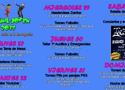 Los vecinos del municipio malagueño de Campillos podrán disfrutar de la Semana Joven 2015 desde el 27 de julio al 2 de agosto, con distintas actividades deportivas, talleres de ocio y actuaciones musicales