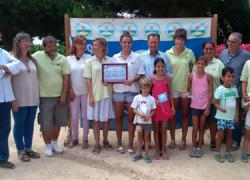 """El Aula de la Naturaleza """"Huerta del Novo"""" de la localidad de Chiclana ha sido reconocida, por sexta vez, como Centro Azul por la Asociación de Educación Ambiental y del Consumidor FEE"""