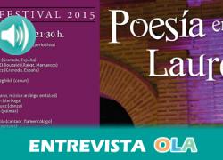 """""""Con pocos elementos, la canción de autor nos hace sentir la poesía de una manera diferente, por eso tiene un peso tan importante en este festival"""", Pedro Enríquez, director del festival 'Poesía en el Laurel'"""