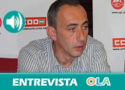 """""""La FP tuvo unos años de decadencia y se hizo una apuesta por ella y consiguió importantes cifras de inserción laboral y ahora la LOMCE supondrá un retroceso"""", José Blanco, secretario Enseñanza CCOO- A"""
