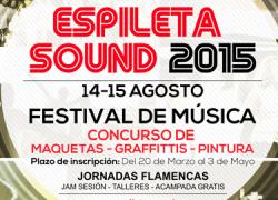 Casares le pone música a este fin de semana con la tercera edición del Festival de Música y Arte Contemporáneo Espileta Sound, un evento que contará con conciertos gratuitos y un amplio programa de actividades