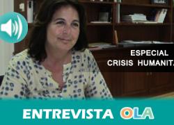 """""""Sin canales legales para que la gente venga a Europa, damos pie a uno de los grandes problemas que hay, las mafias"""", María Jesús Herrera, jefa de Misión de la Organización Internacional para las Migraciones"""