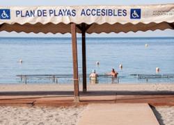 Éxito de la Guía Accesible de Playas de la provincia de Almería en su objetivo de facilitar las condiciones de disfrute ocio y tiempo libre en el litoral almeriense, con cerca de 9.000 visitas durante el verano