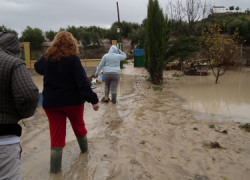 Las primeras lluvias y tormentas otoñales llegan con fuerza causando daños e inundaciones en el Condado y la Sierra de Segura, en los municipios de Arroyo del Ojanco, Puente Génave, Arquillos y Sorihuela