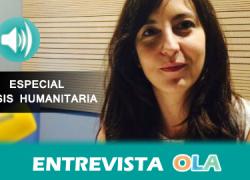 """""""La comunidad internacional debe detener los conflictos haría que los refugiados no se vieran obligados a salir y que pudieran retornar a sus países"""", Rosa Otero, responsable de Comunicación de ACNUR"""