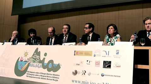 200 investigadores e investigadoras de Europa se dan cita en el VIII Simposio sobre el Margen Ibérico Atlántico que organiza el Instituto Español de Oceanografía en la Diputación de Málaga