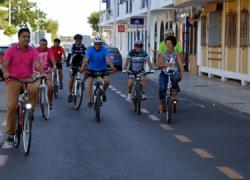 Punta Umbría clausura la Semana Europea de la Movilidad por sexto año consecutivo con la celebración del Día Europeo Sin Coche con el objetivo de promover un transporte respetuoso con el medio ambiente