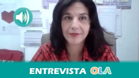 """""""La trata es una realidad que atraviesa fronteras, orquestada por mafias organizadas, pero queremos llamar la atención sobre la demanda"""", Inma Cabello, coordinadora de Mujeres en Zona de Conflicto en Andalucía"""