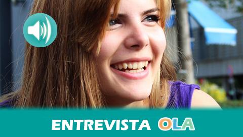 """""""En cinco años hemos conseguido frenar las tasas de matriculación en todas las universidades andaluzas y ahora buscamos poner fin al modelo 3+2"""", María Caballero, portavoz del Movimiento de Acción Estudiantil"""
