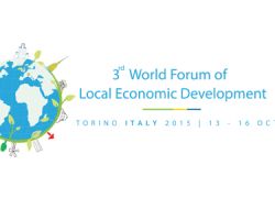 Una delegación andaluza coordinada por el FAMSIe integrada por responsables municipales y entidades sociales participa en el IIIForo Mundial de Desarrollo Económico Local que comienza hoy en Turín
